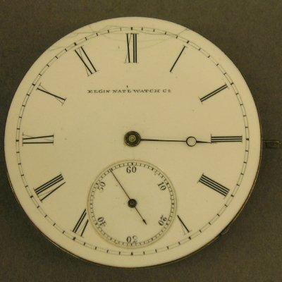 22: Elgin National pocket watch movement