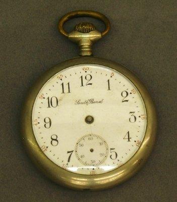 7: South Bend #313 Pocket watch