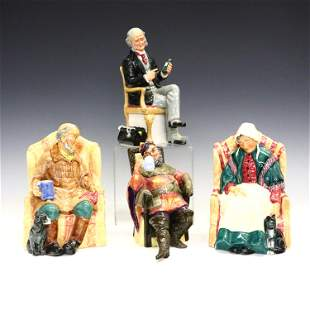 4 Royal Doulton Figures