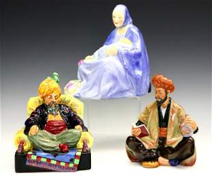 3 Royal Doulton Figures
