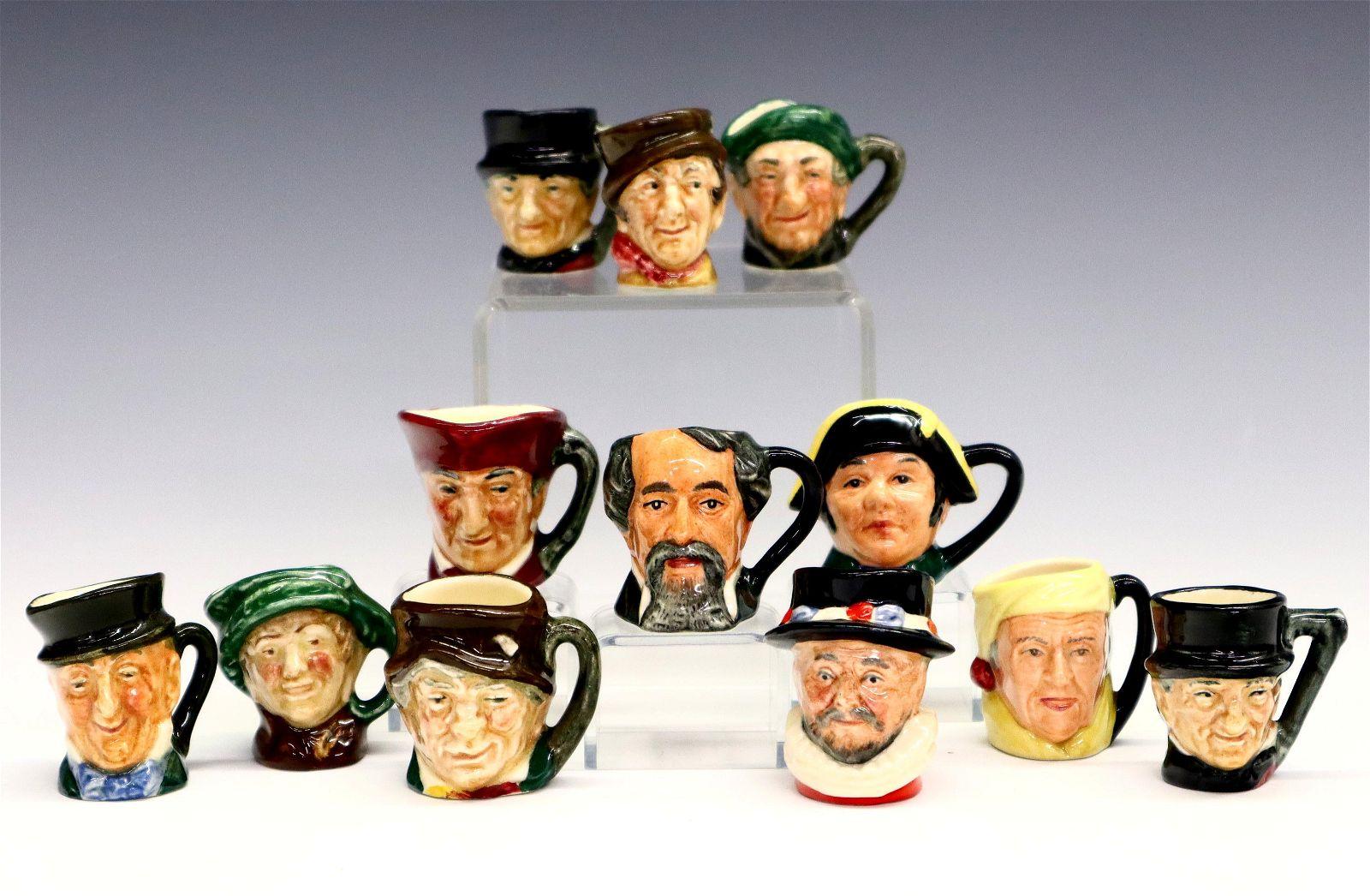Royal Doulton Character Thimble Mugs