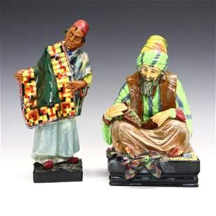 2 Royal Doulton Figures