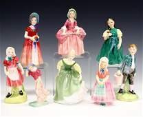 8 Royal Doulton Figures