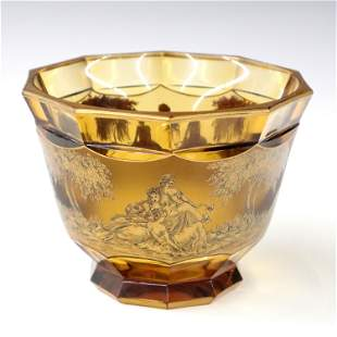 Moser Footed Bowl