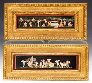 2 Neoclassical Paintings