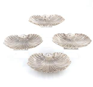 Gianmaria Buccellati Sterling Shell Dishes