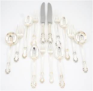 Whiting/Concord Georgian Shell Sterling Flatware