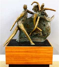 R. Nakian Bronze Sculpture