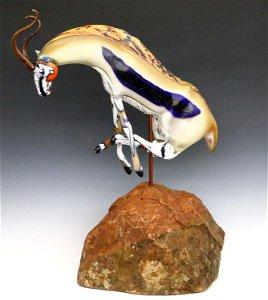 S. Muzylowski Allen Glass Sculpture