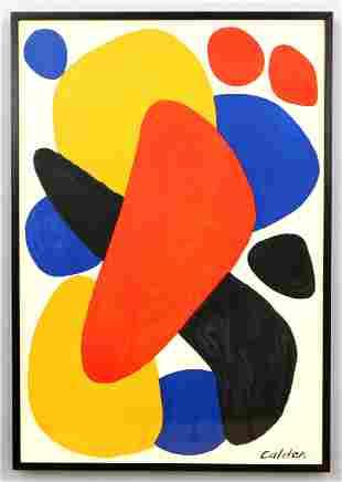 After Alexander Calder, Boomerang