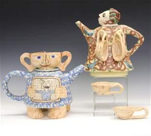 2 Marilyn Andrews Teapots