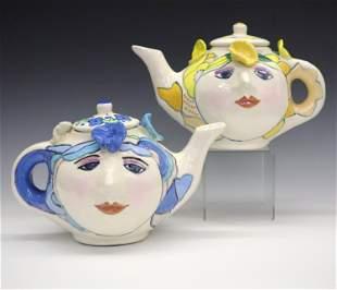 2 Sue Bolt Teapot