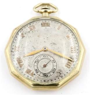 Omega 14k Gold Pocket Watch