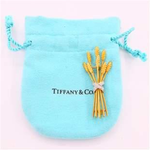 18k Gold and Diamond Tiffany & Co. Brooch