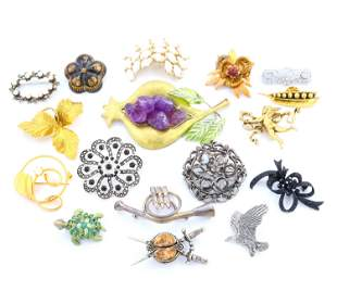 17 Pins and Brooches