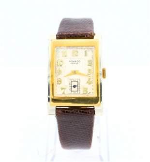 18k Gold Movado Wristwatch