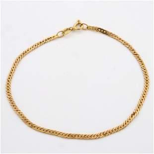 14k Gold Ladies Bracelet