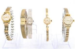 5 Ladies Wristwatches
