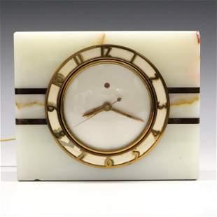 Telechron Onyx Desk Clock