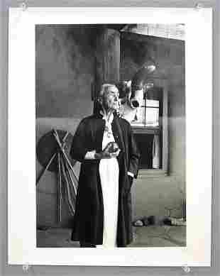 Photo of G. O'Keefe by J. Hamilton