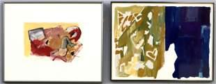 2 N. Wolfe Paintings