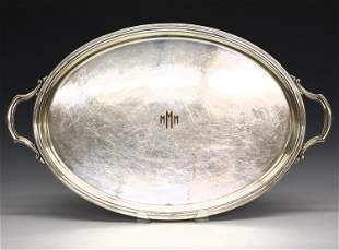 Tiffany Silver Plated Serving Tray