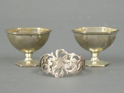 5: 3  Sterling table items