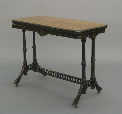 14: Victorian Games table