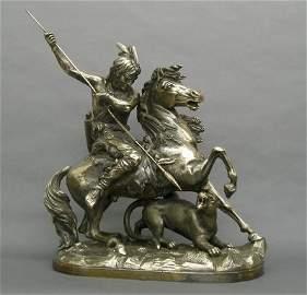 56: Theodore Baur sculpture