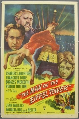 5: Man in the Eiffel Tower poster