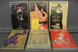 36 6 Theatre Lobby Cards