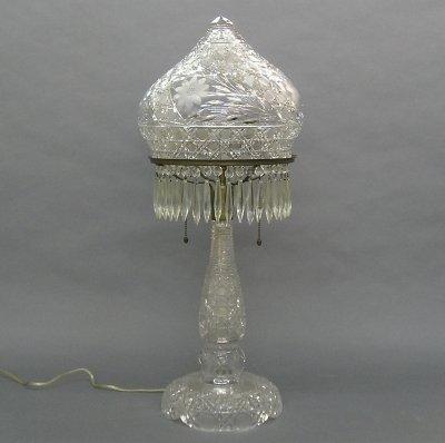 79: Cut Crystal lamp