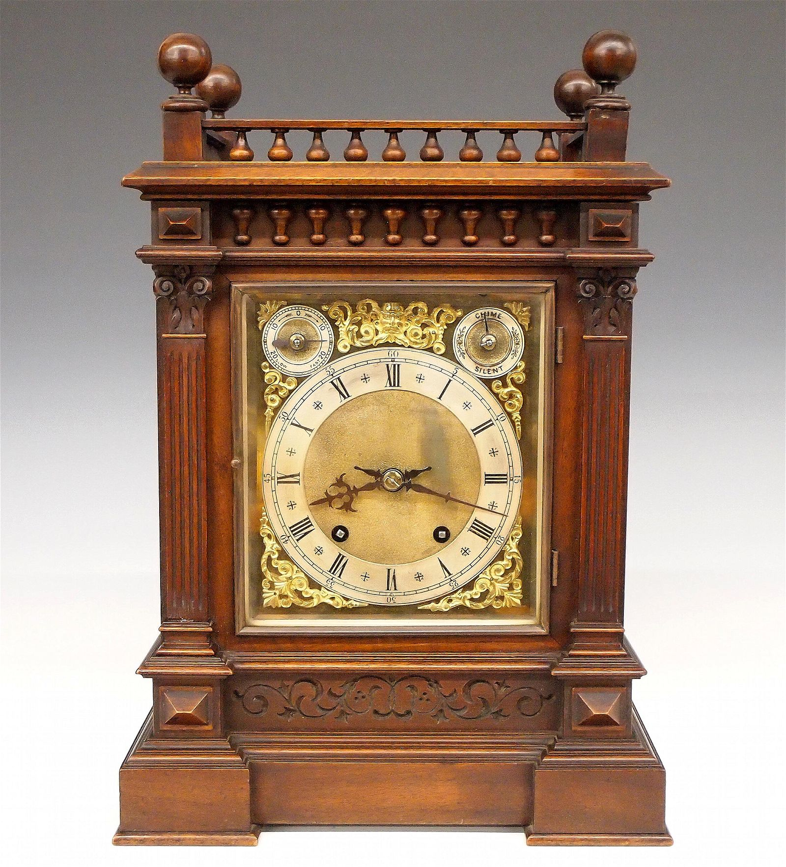 W & H Bracket Clock