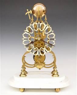 British Skeleton Clock