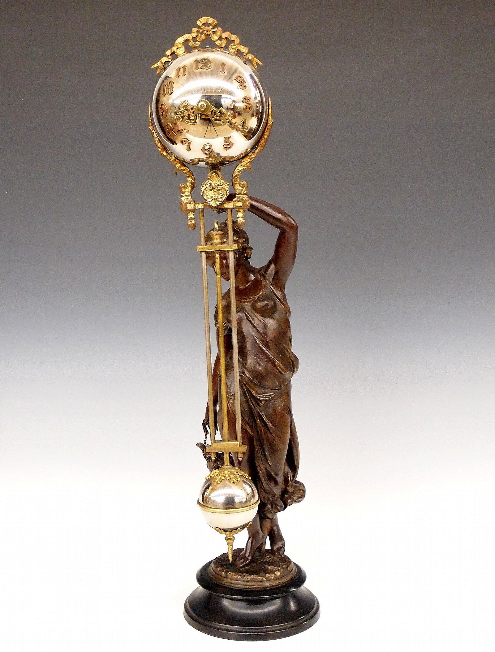 Ansonia Huntress Swinging Arm Clock