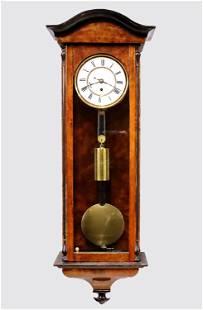 Dwarf Gustav Becker Vienna Wall Clock