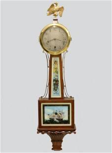Bailey, Banks & Biddle 1-Year Banjo Clock