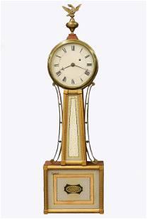 S.W. Talbot American Banjo Clock