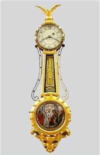 Elmer Stennes Girandole Clock