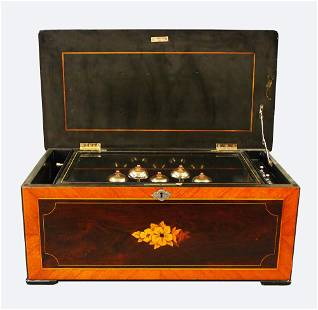 Swiss Cylinder Music Box