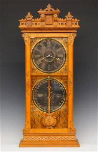 Ithaca Belgrade Calendar Shelf Clock