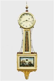 A. Willard Jr. Presentation Banjo Clock
