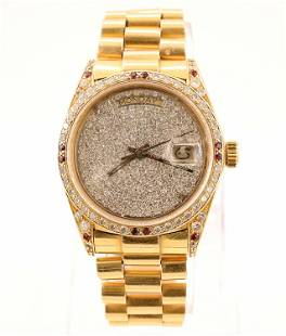 18k Rolex President Wristwatch