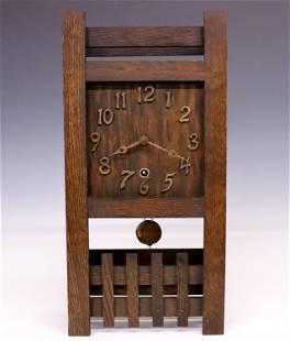 American Arts & Crafts Shelf Clock