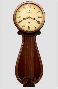 New Haven Chippendale Wall Clock