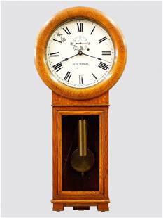 Seth Thomas Regulator No. 2 Wall Clock
