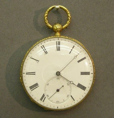 4: De Sufry Swiss pocket watch