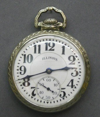 6: 23 j Illinois Sangamo Special pocket watch