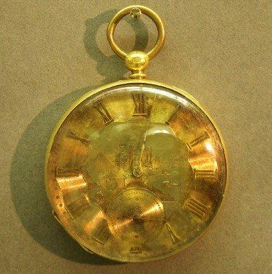 8: T. F. Cooper 18k pocket watch
