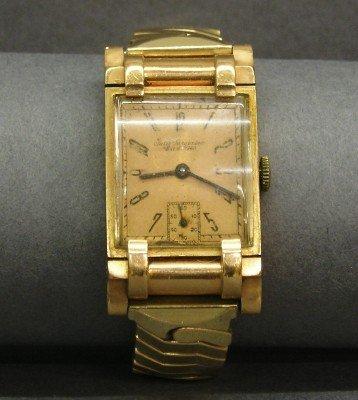 14: Jules Jurgensen 14k wristwatch